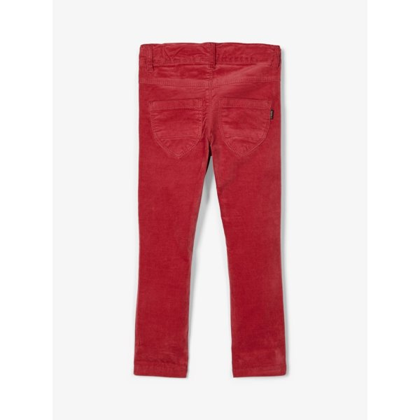 Twill-Hose nmfpolly twiatolivs legging Earth Red