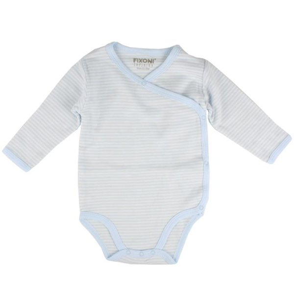 Wickelbody Langarm New Baby Blue